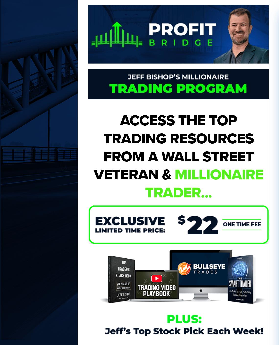 Jeff Bishop Profit Bridge: The Million Dollar Starter Pack
