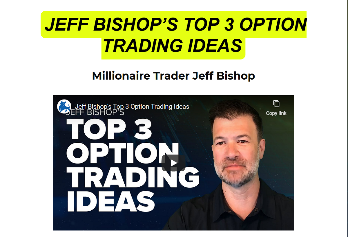Jeff Bishop Review 2020: Jeff Bishop Trading Ideas from Total Alpha Live Training