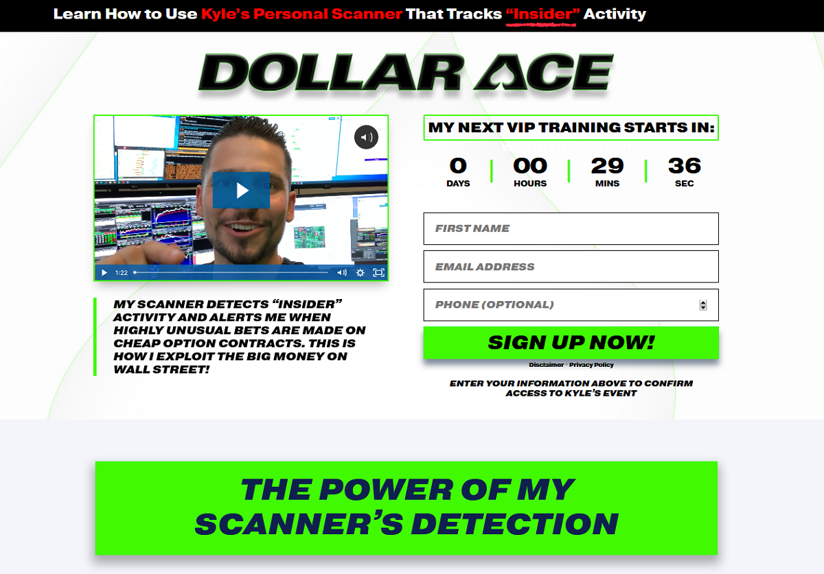 Kyle Dennis Dollar Ace Scanner – How does it work?