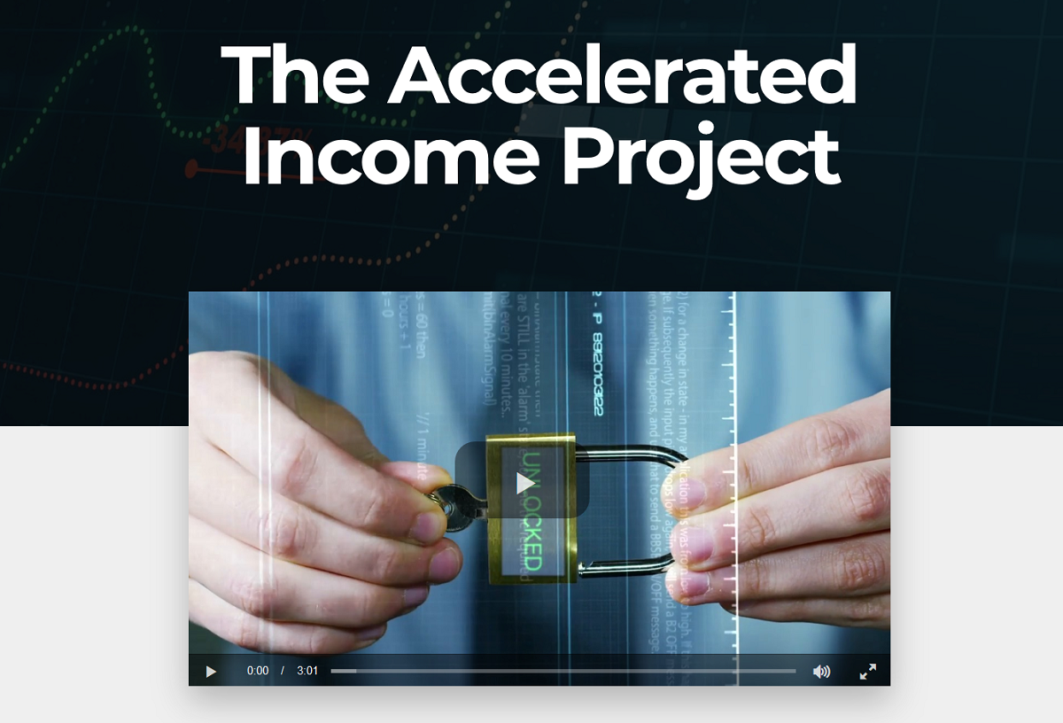 Louis Navellier's Accelerated Income Project Event