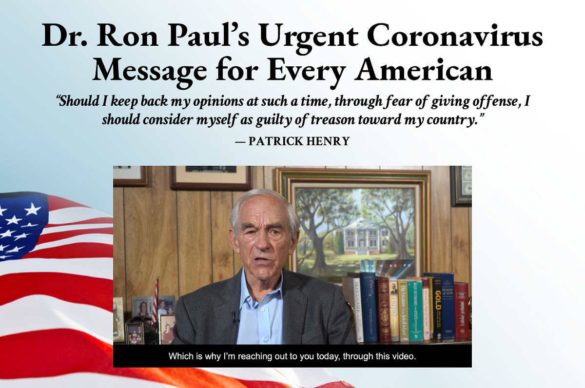 Stansberry Investment Advisory: Ron Paul's Battle for America Research Report