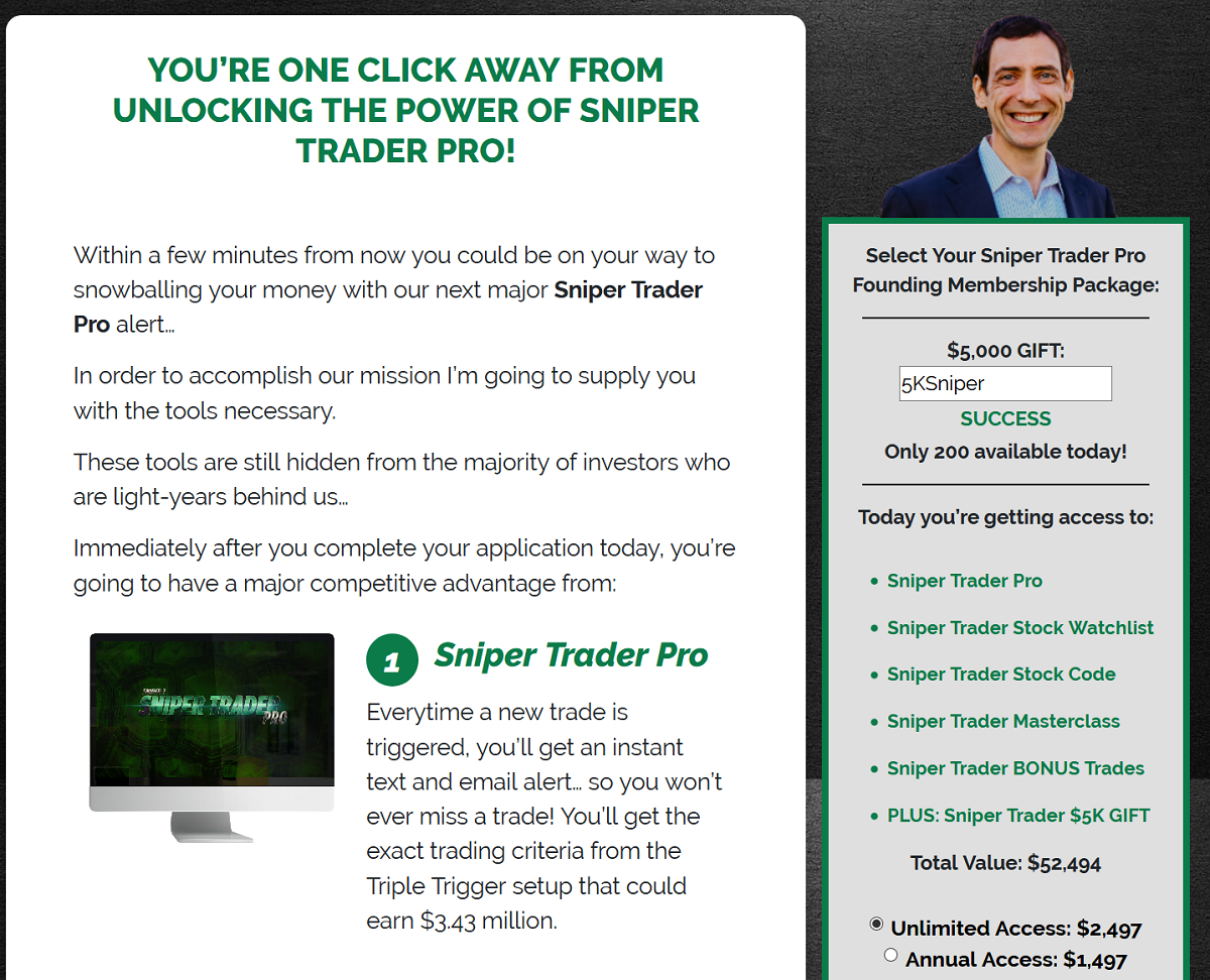 Sniper Trader Pro Review – Is Roger Scott's Service Legit?