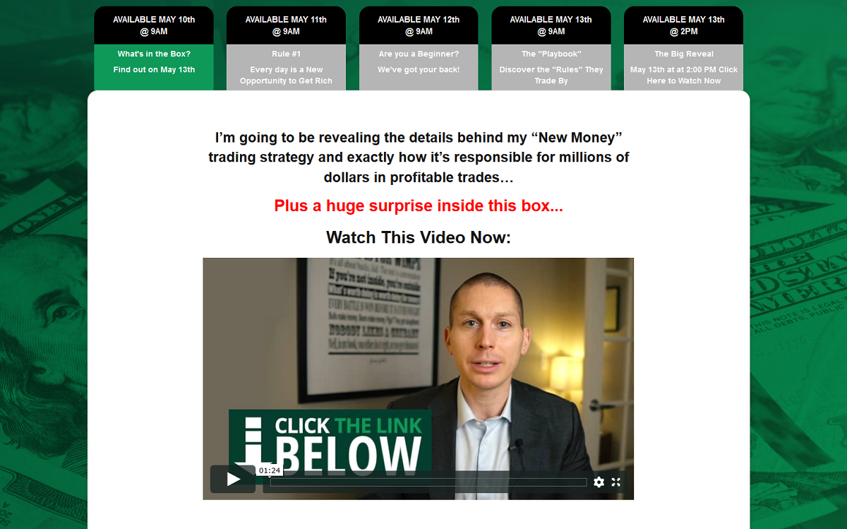 The New Money Club Summit: Lance Ippolito's New Money Strategy Revealed