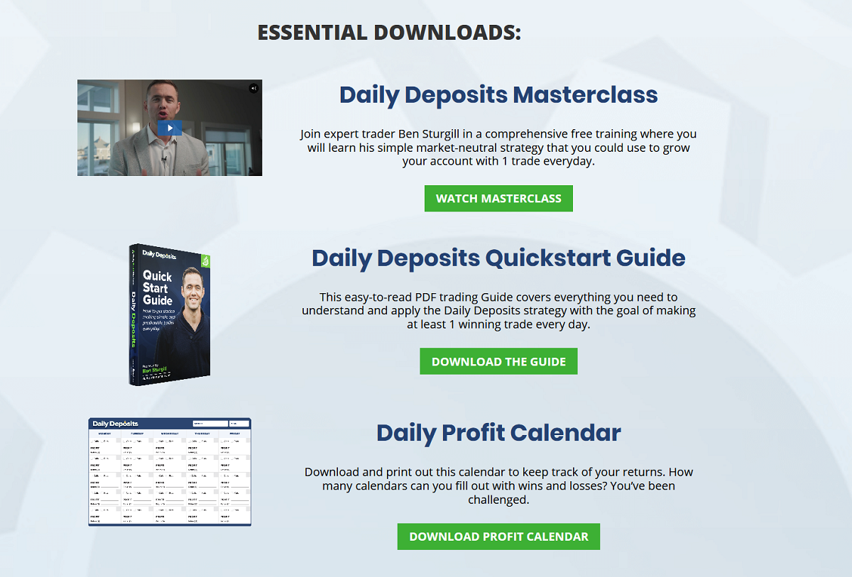 Ben Sturgill Daily Deposits Review | How To Use The TICK Index