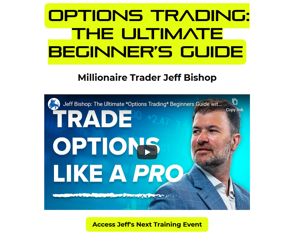 Jeff Bishop: How To Fix Your Most Common Trading Mistake