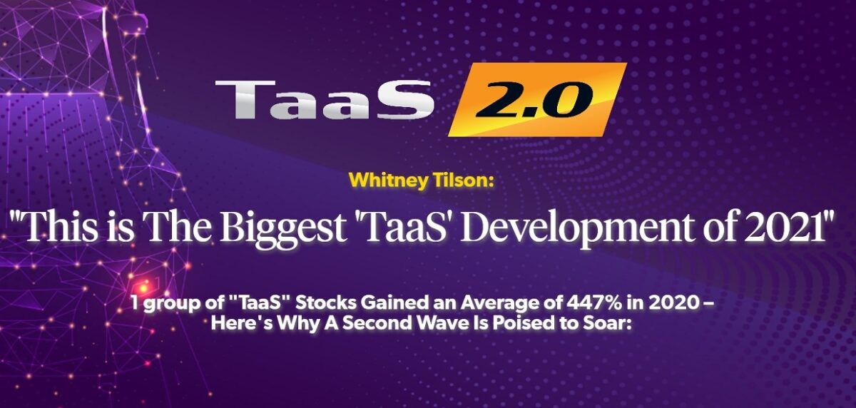 "What's Whitney Tilson's ""TaaS"" Pick (2021) – ""TaaS 2.0"" Summit"