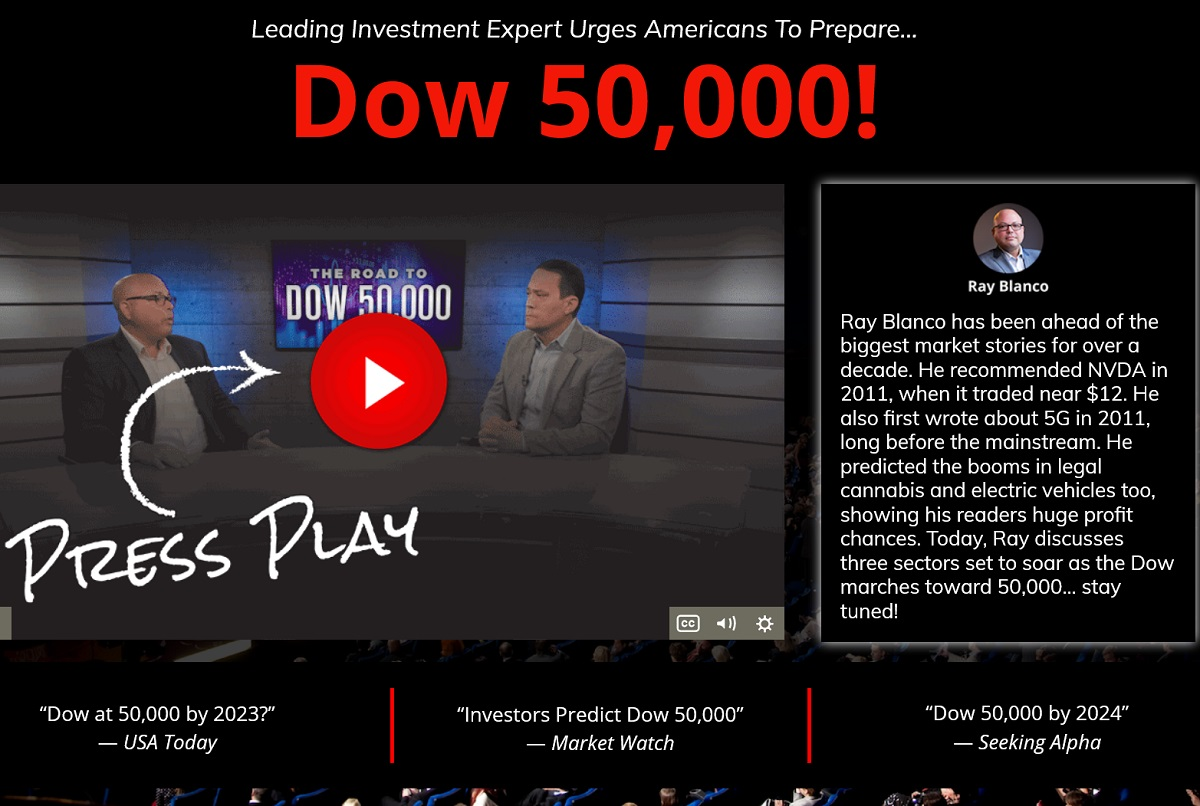 Ray Blanco The Dow 50,000 Review