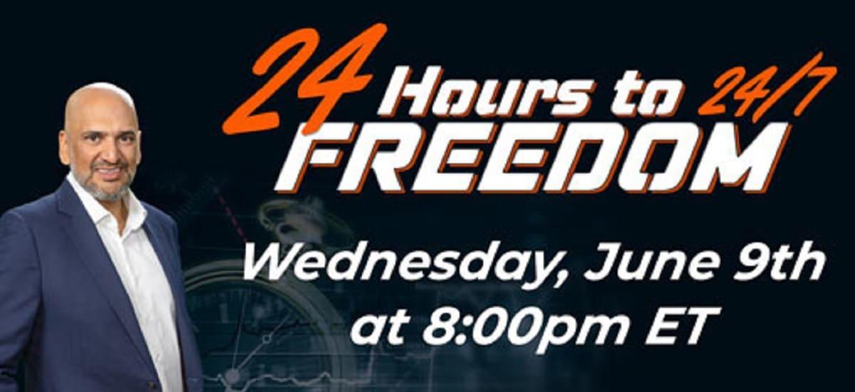 Teeka Tiwari 24 Hours to 24-7 Freedom